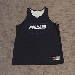 University of Portland reversible jersey
